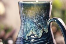 Load image into Gallery viewer, 37-E Astral Wave Flared Notched Textured Mug, 18 oz.
