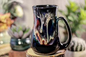 39-B Cosmic Grotto Flared Mug, 17 oz