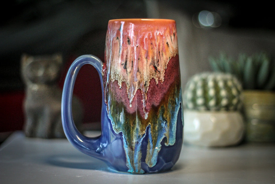 03-A Coral Mountain Meadow Crystal Mug - MISFIT, 22 oz. - 15% off