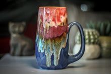 Load image into Gallery viewer, 03-A Coral Mountain Meadow Crystal Mug - MISFIT, 22 oz. - 15% off