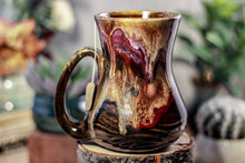 Load image into Gallery viewer, 42-B Rainbow Grotto Flared Notched Textured Mug - TOP SHELF, 17 oz