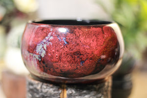 08-P Dragon's Blood Agate Bowl, 25 fl. oz.