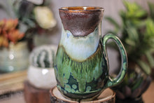 Load image into Gallery viewer, 22-B Copper Agate Barely Flared Acorn Mug - ODDBALL, 18 oz.  - 15% off