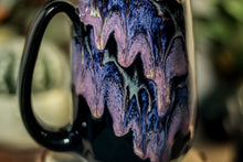 Load image into Gallery viewer, 33-D Amethyst Grotto Notched Crystal Mug - MISFIT, 14 oz. - 10% off