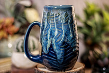 Load image into Gallery viewer, 42-E Astral Wave Notched Textured Mug - ODDBALL, 18 oz. - 10% off