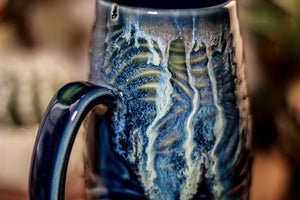 42-E Astral Wave Notched Textured Mug - ODDBALL, 18 oz. - 10% off