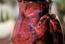 Load image into Gallery viewer, 44-B Dragon's Blood Agate Barely Flared Notched  Mug, 16 oz.