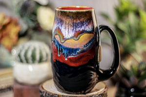 07-P New Earth Notched Textured Mug - MISFIT, 16 oz. - 10% off