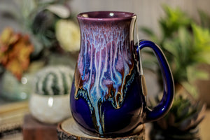 03-A PROTOTYPE Baja Sunset Barely Flared Notched Mug - MISFIT, 21 oz. - 15% off