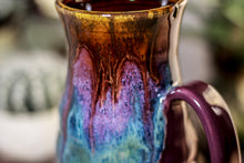 Load image into Gallery viewer, 08-B Magenta Haze Barely Flared Notched Mug, 20 oz.
