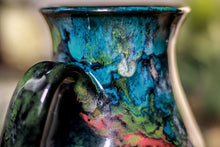Load image into Gallery viewer, 33-B Chrysocolla Barely Flared Mug - TOP SHELF, 18 oz.