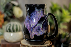 46-D Amethyst Grotto Barely Flared Notched Acorn Mug, 15 oz.