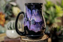 Load image into Gallery viewer, 46-D Amethyst Grotto Barely Flared Notched Acorn Mug, 15 oz.