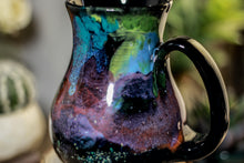 Load image into Gallery viewer, 51-A Rainbow Stellar Barely Flared Notched Mug,  19 oz
