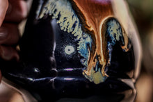 Load image into Gallery viewer, 01-A PROTOTYPE Starry Night Barely Flared Notched Mug - TOP SHELF, 18 oz.
