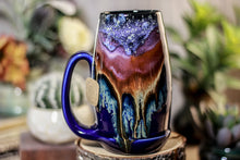 Load image into Gallery viewer, 02-A PROTOTYPE Starry Night Notched Acorn Mug - TOP SHELF MISFIT, 16 oz.