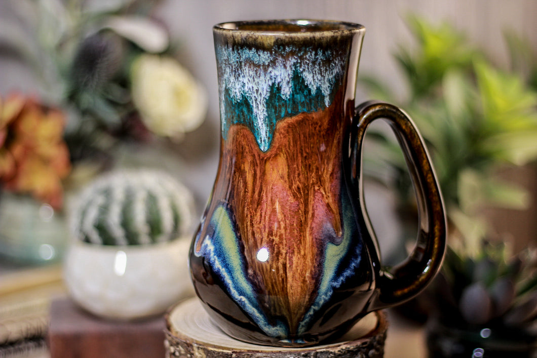 09-B Painted Desert  Mug - MISFIT, 18 oz. - 25% off