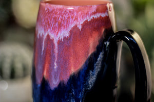 30-C Flaming Phoenix Notched Crystal Mug - ODDBALL, 18 oz. - 20% off