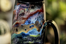 Load image into Gallery viewer, 45-A Cosmic Grotto Notched Mug, 22 oz.