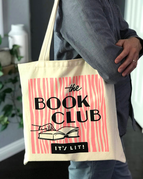 The Book Club - It's Lit! tote bag