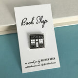 Book Shop enamel pin - a sharp gift for readers