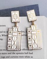 Bookish earrings by Rather Keen.