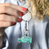 Bookmobile keychain by Rather Keen