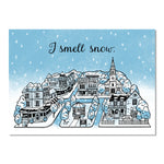 I Smell Snow greeting card inspired by The Gilmore Girls