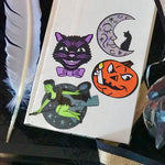 Halloween vinyl sticker set