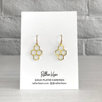 Rather Keen honeycomb earrings