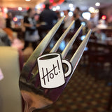 Hot Coffee enamel pin by Rather Keen