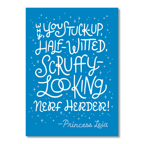 Nerf Herder greeting card