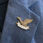 So Fly Duck enamel pin
