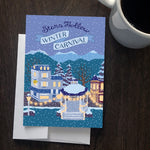 Stars Hollow Winter Carnival Greeting Card