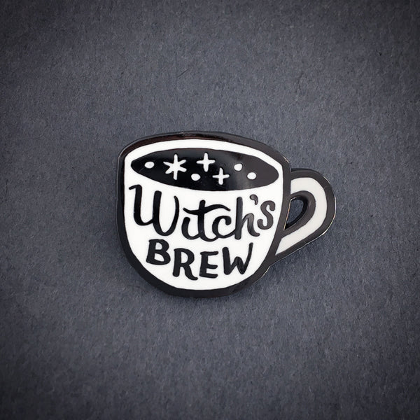 Witch's Brew witchy enamel pin by Rather Keen