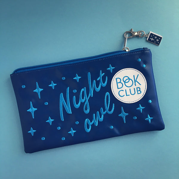 Night Owl Book Club clutch