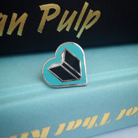 Book Lover enamel pin by Rather Keen