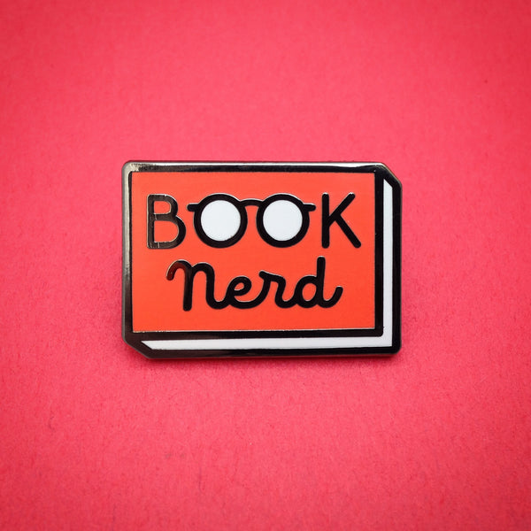 smart gifts for book lovers - bookish enamel pin