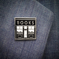 Book Shop enamel pin - the original! - by Rather Keen
