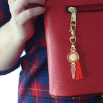 Christmas Ornament keychain / purse charm