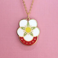 Strawberry pendant by Rather Keen.