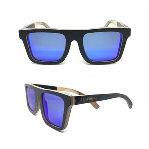 Sk8 Flat Top – Night Blue Mirror - Bearora