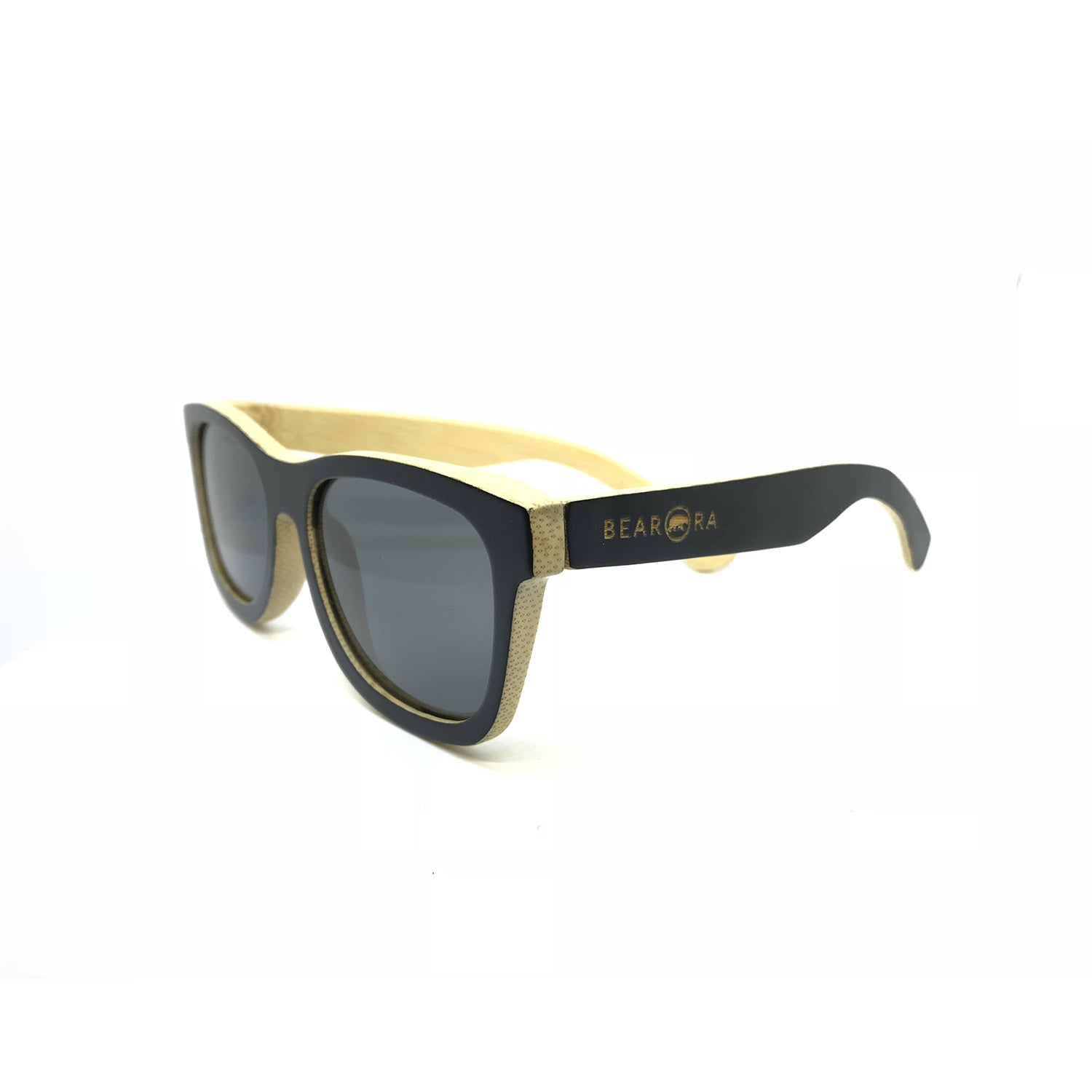 Bamboo Wayfarer – Black Outside Bamboo Black - Bearora