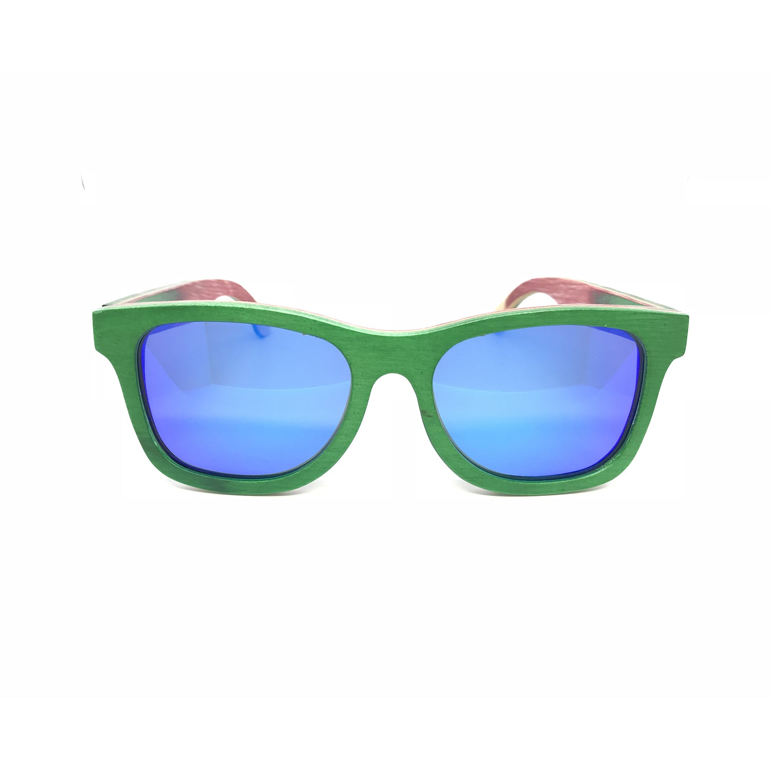 Sk8 Wayfarer – Forest Inca Blue Mirror - Bearora