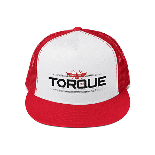 Red & White Trucker Cap