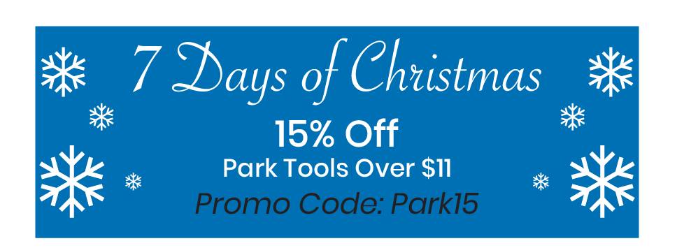 15% Off Park Tool Over $11. Code: Park15