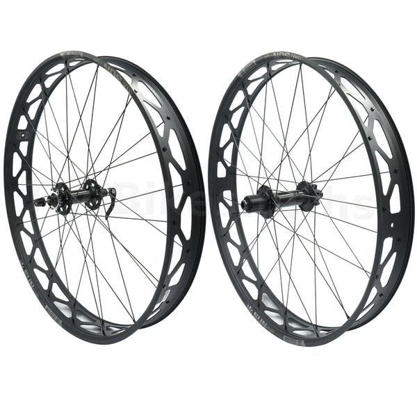 Sun Ringle Mulefut 80SL V2 9x135 QR 12x197 TA Fat Bike Wheelset