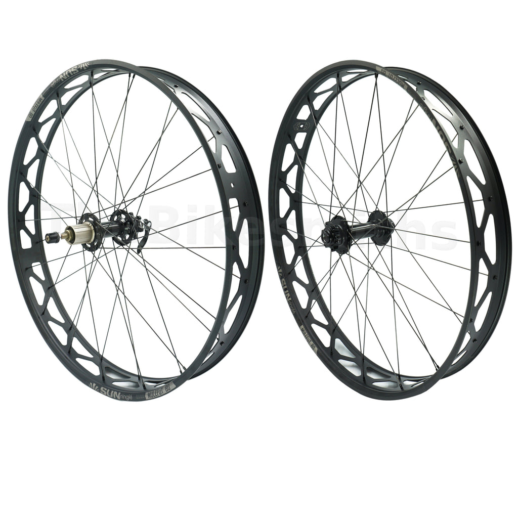 Sun Ringle Mulefut 80SL V2 15x150 TA 10x170 QR Fat Bike Wheelset - TheBikesmiths