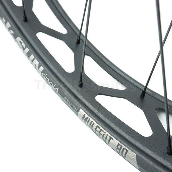 Sun Ringle Mulefut 80SL V2 15x150 TA 10x170 QR Fat Bike Wheelset