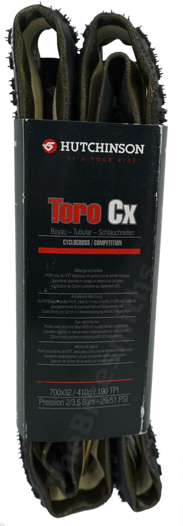 Hutchinson 700x32 Toro CX Tubular Tire - TheBikesmiths